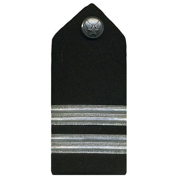 Air Force ROTC Hard Shoulder Board: Captain - female