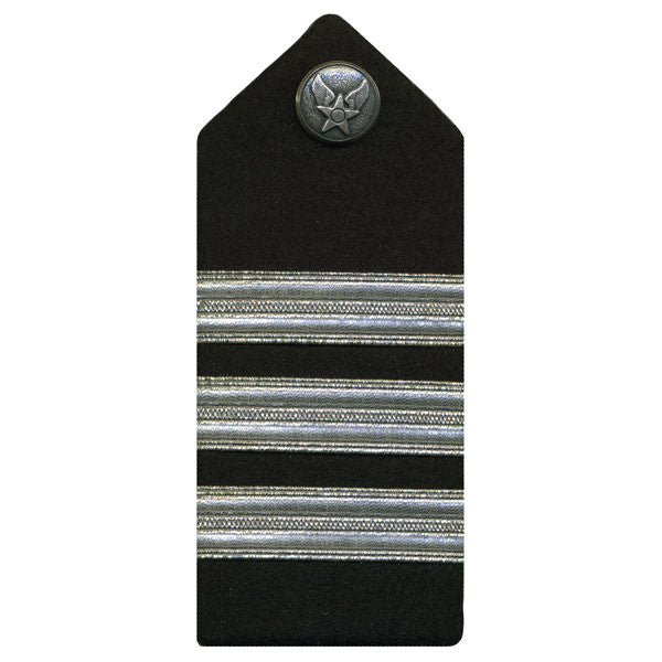 Air Force ROTC Hard Shoulder Board: Lieutenant Colonel - female