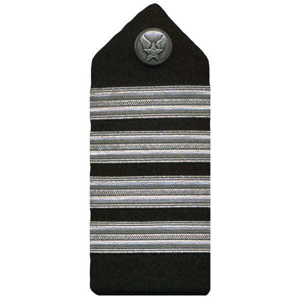 Air Force ROTC Hard Shoulder Board: Colonel - female