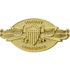 Coast Guard Badge: Company Commander - regulation size