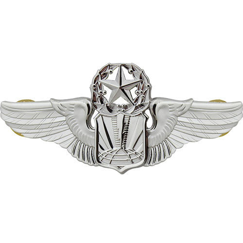 Air Force Badge: Unmanned Aircraft Systems: Master - Regulation size