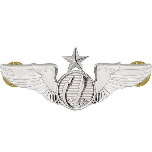 Air Force Badge: Enlisted Remotely Piloted Aircraft Sensor Senior - Regulation size