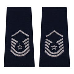 Air Force Epaulet: Master Sergeant: Enlisted - large