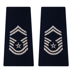 Air Force Epaulet: Senior Master Sergeant: Enlisted - large