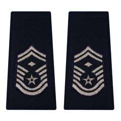 Air Force Epaulet: Senior Master Sergeant with diamond: Enlisted - large