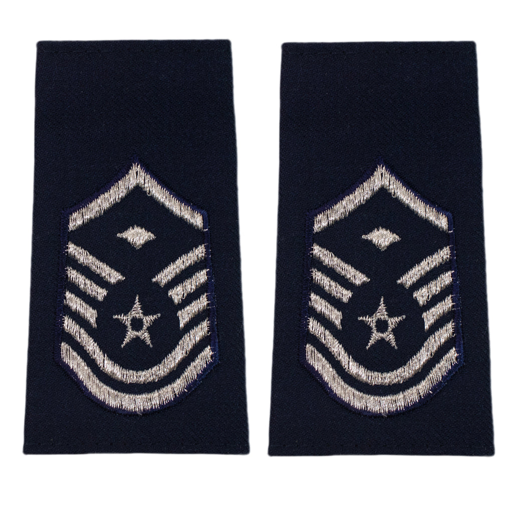 Air Force Epaulet: Master Sergeant with diamond: Enlisted - small