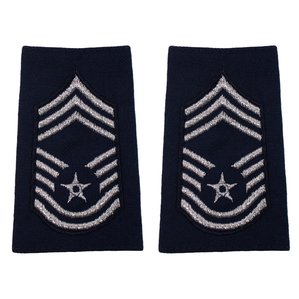 Air Force Epaulet: Chief Master Sergeant: Enlisted - small