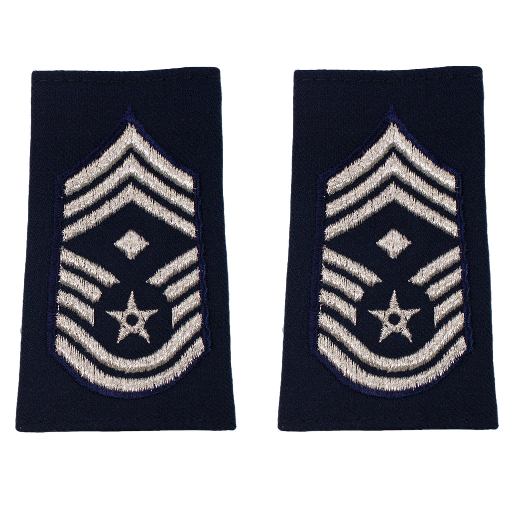 Air Force Epaulet: Chief Master Sergeant with diamond: Enlisted - small