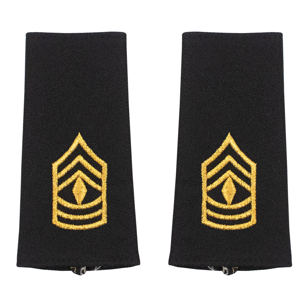 Army Epaulet: First Sergeant - large