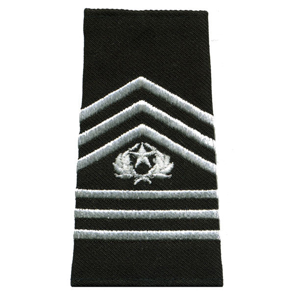 Army ROTC Epaulet: Command Sergeant Major