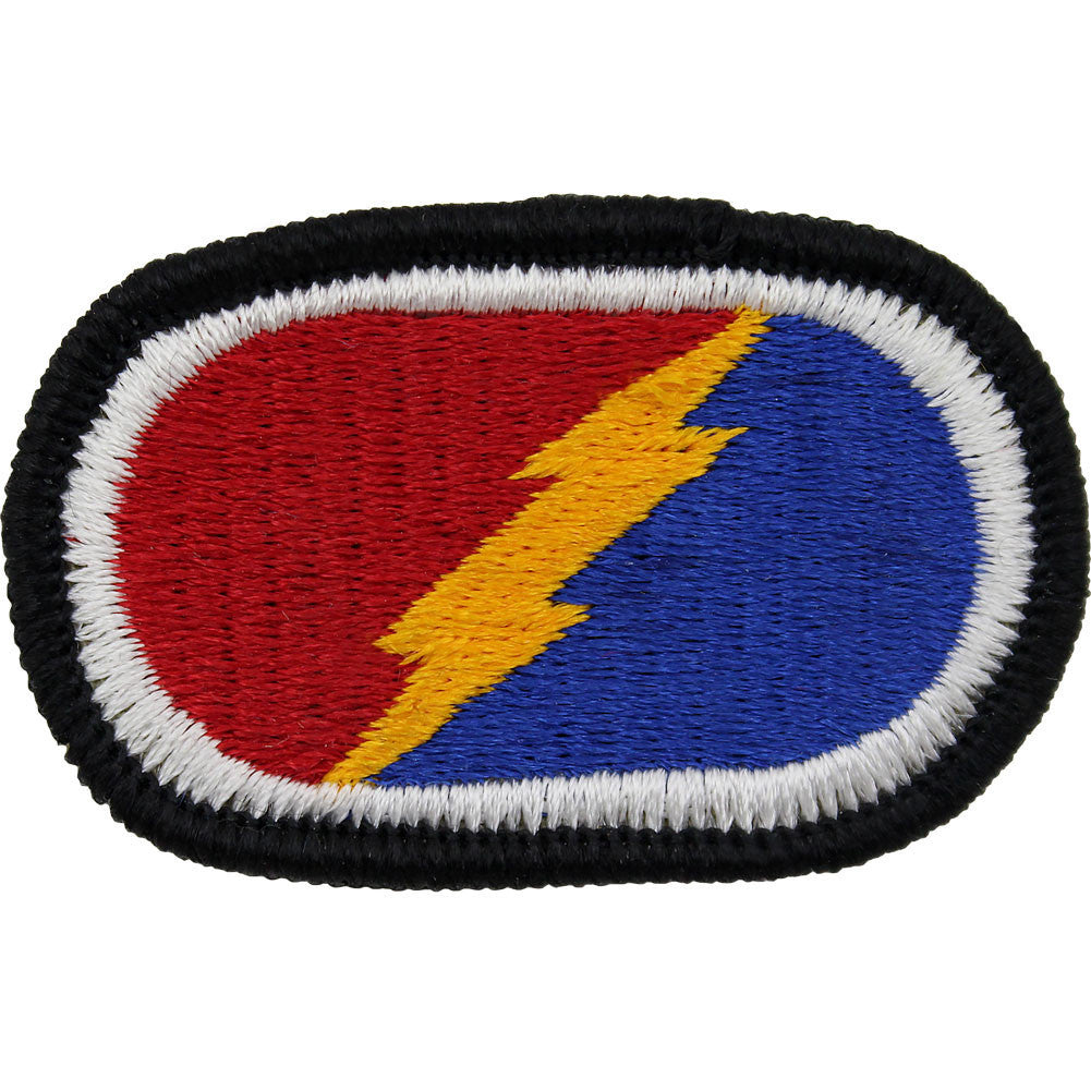 Army Oval Patch: 4th Brigade 25th Infantry Division