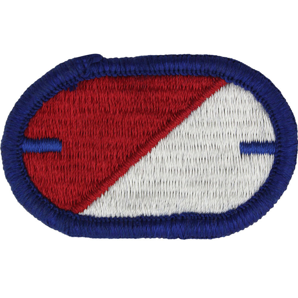 Army Oval Patch: First Squadron 40th Cavalry Regiment - notch