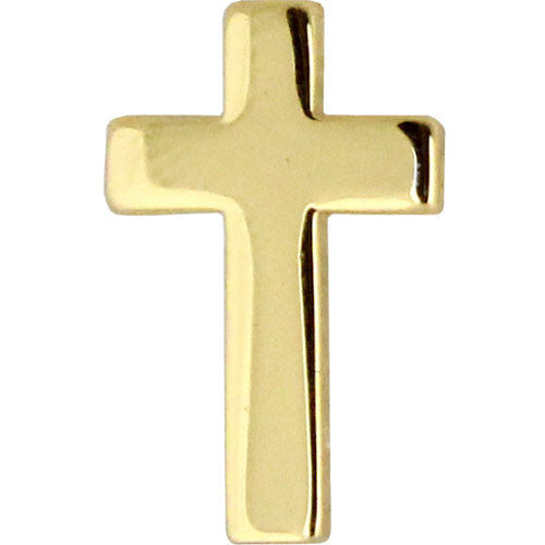 Navy Collar Device: Chaplain Christian - gold