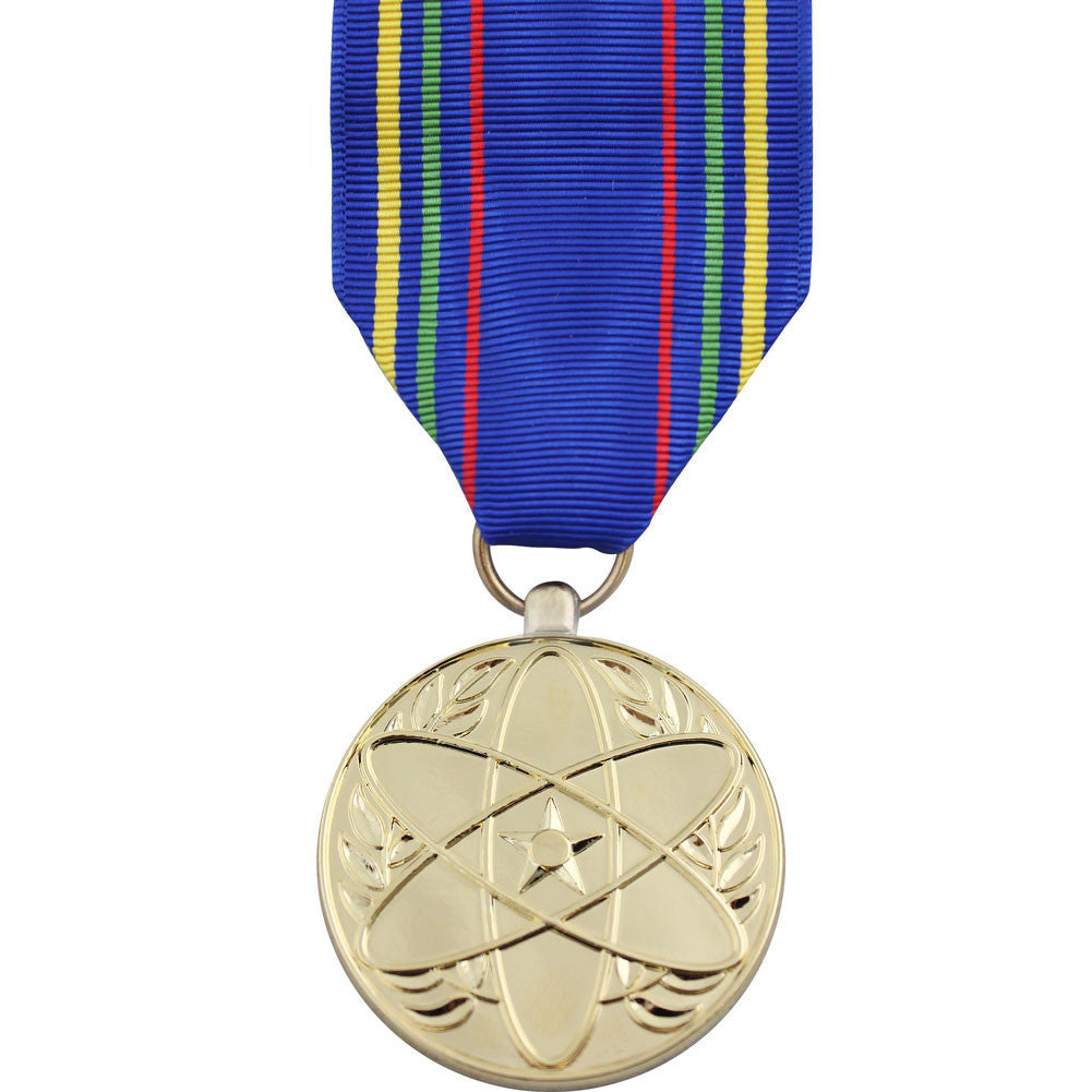 Full Size Medal: Air Force Nuclear Deterrence Operations Service - 24k Gold Plated