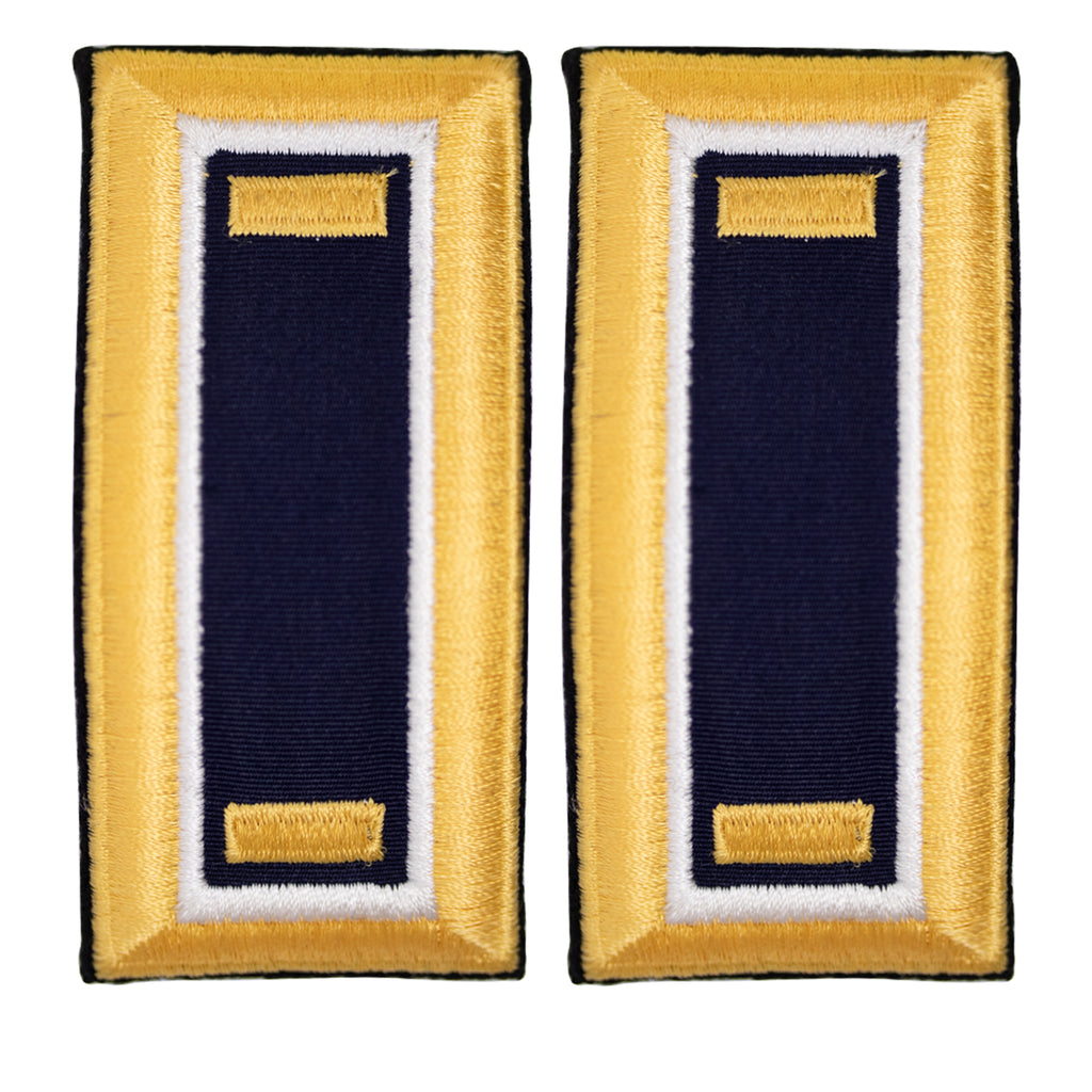Army Shoulder Strap: 2nd Lieutenant Judge Advocate Male