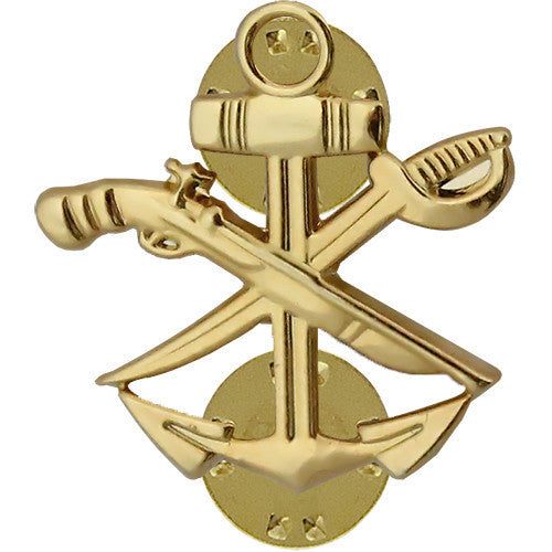Navy Collar Device: Special Warfare Combat Craft Crew - gold
