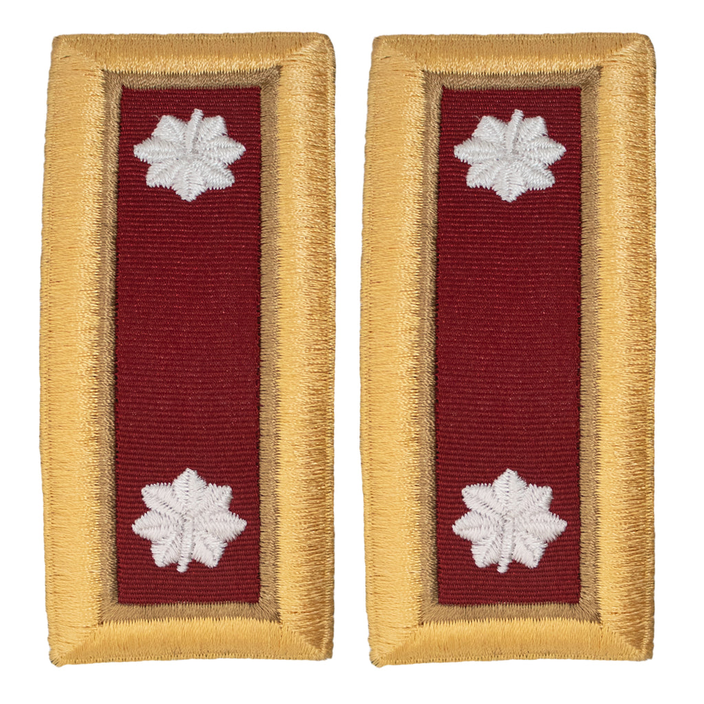 Army Shoulder Strap: Lieutenant Colonel Logistics