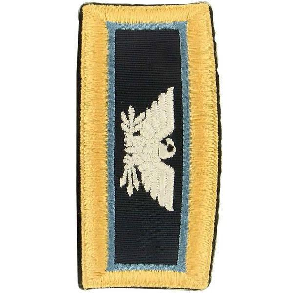 Army Shoulder Strap: Colonel Inspector General