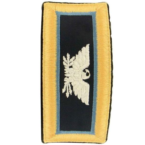 Army Shoulder Strap: Colonel Inspector General - female