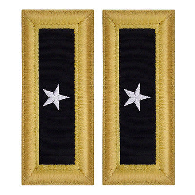 Army Shoulder Strap: Brigadier General - female