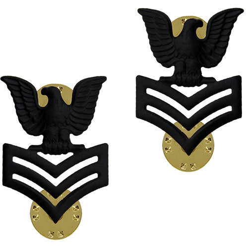 Navy Collar Device: E6 Seabee