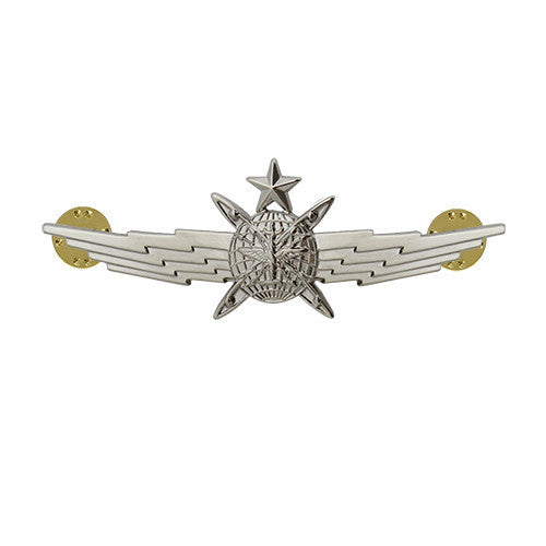 Air Force Badge: Cyberspace Operator: Senior - miniature