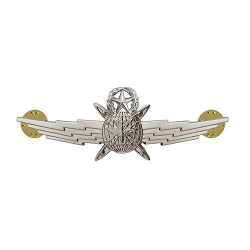 Air Force Badge: Cyberspace Operator: Master - miniature