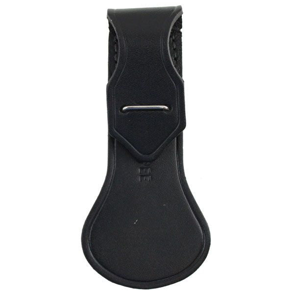 Army Sabre Guard - Black Cowhide Leather