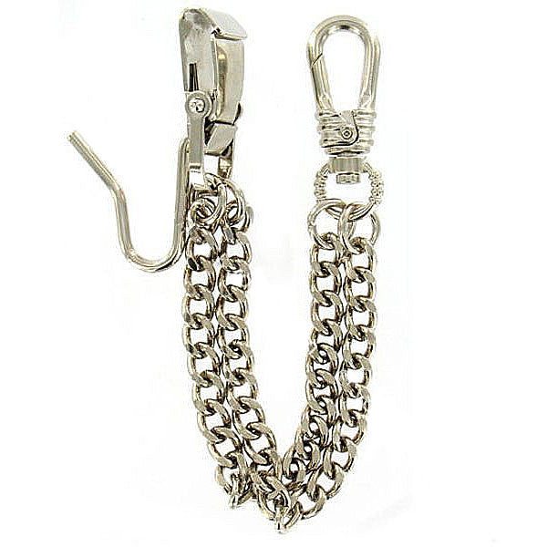 Army Sabre Chain - Metal Sword Chain - silver