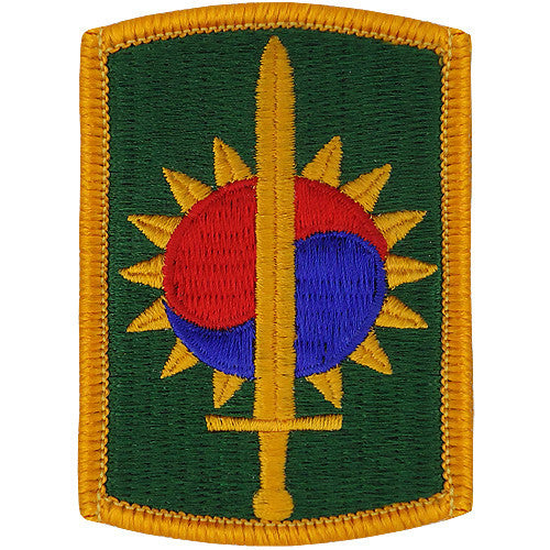 Army Patch: Eighth Military Police Brigade - color