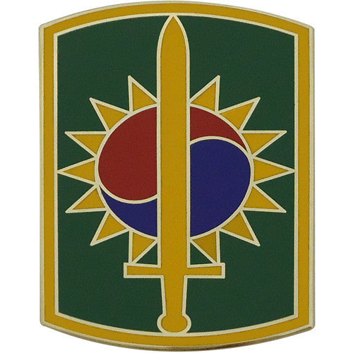 Army Combat Service Identification Badge (CSIB): 8th Military Police Brigade