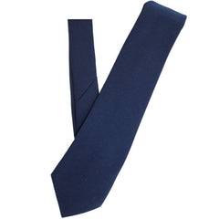 Coast Guard Tie: Blue four-in hand - 3 1/8