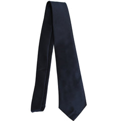 Necktie: Air Force Blue 4-in-Hand Herringbone