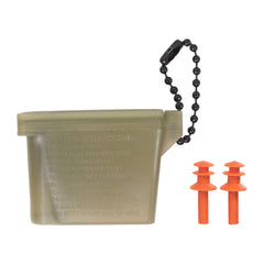 Ear Plugs with Chain and Case - medium size