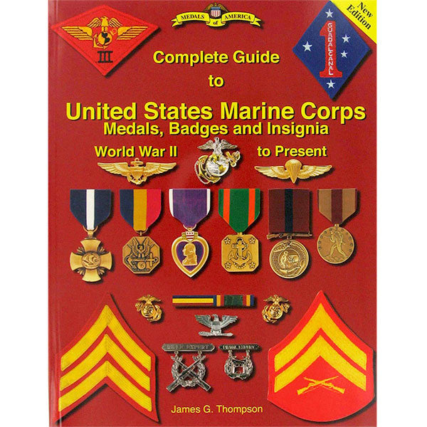 Book: United States Marine Corps Medals, Badges and Insignia WWII to Present