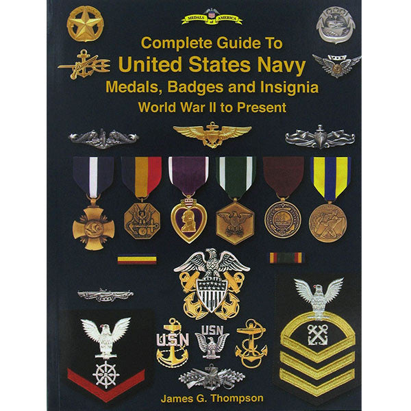 Book Complete Guide To Usn Medals Badges Amp Insignia Wwii