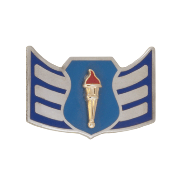Air Force JROTC Chevron: Senior Airman