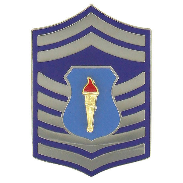 Air Force ROTC Chevron: Senior Master Sergeant