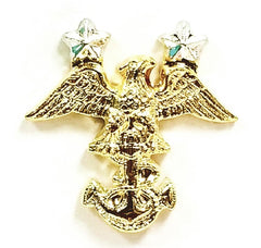 Navy JROTC Collar Device: Cadet Master Chief Petty Officer