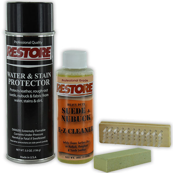 Boot Cleaner Kit: Restore Rough-Out Suede