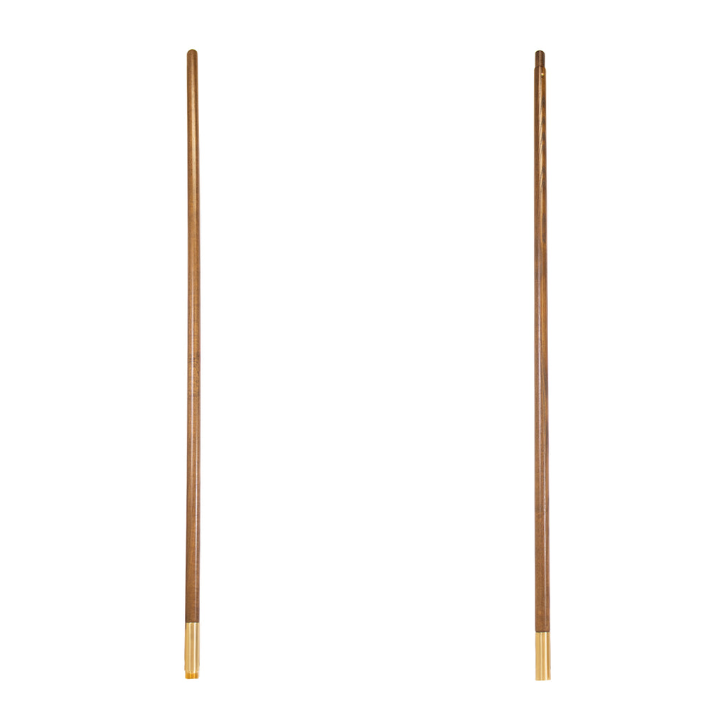 Flag Pole: Oak - Jointed - 8 foot by 1 inch