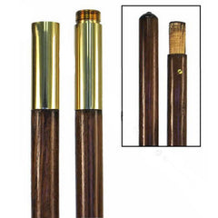 Flag Pole: Oak - Jointed - 7 foot by 1 inch