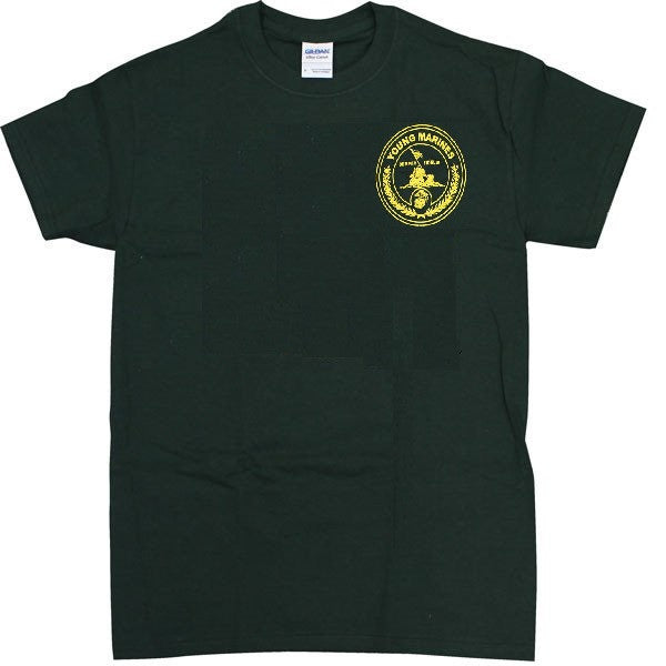Young Marine's T-Shirt: Green