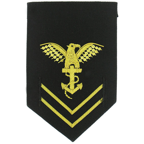 Navy ROTC Rating Badge: Petty Officer Second Class: Platoon