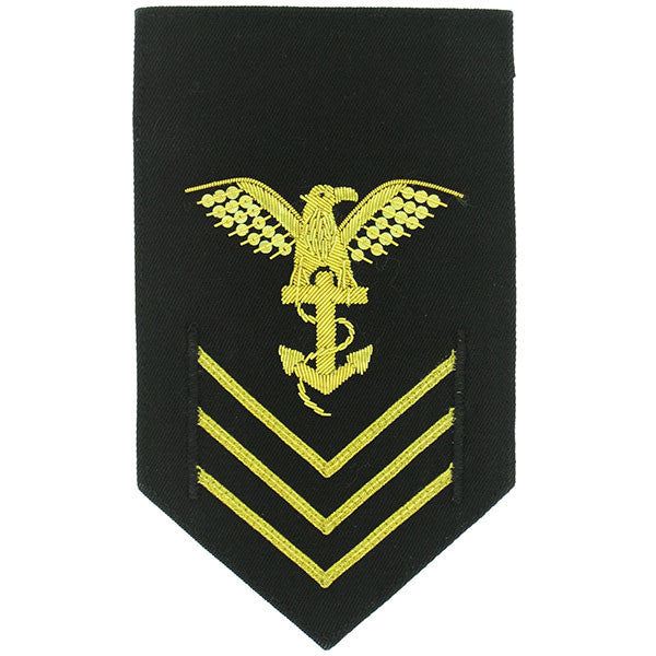 Navy ROTC Sleeve Device: E6 Petty Officer First Class: Platoon