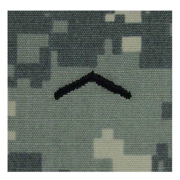 Army ROTC ACU Rank w/hook closure : Private (PV2)