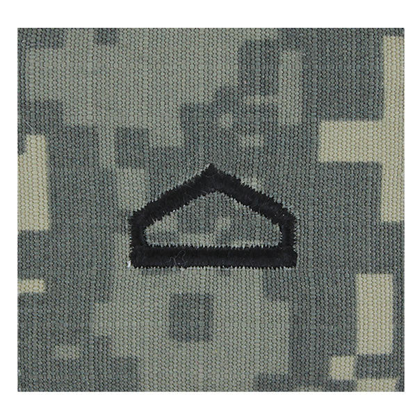 Army ROTC ACU Rank w/hook closure : Private First Class  (PFC)