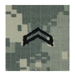 Army ROTC ACU Rank w/hook closure : Corporal  (Cpl)