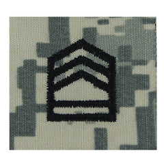Army ROTC ACU Rank w/hook closure: Sergeant First Class (SFC)