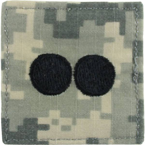 Army ROTC ACU Rank Insignia: First Lieutenant (1LT)